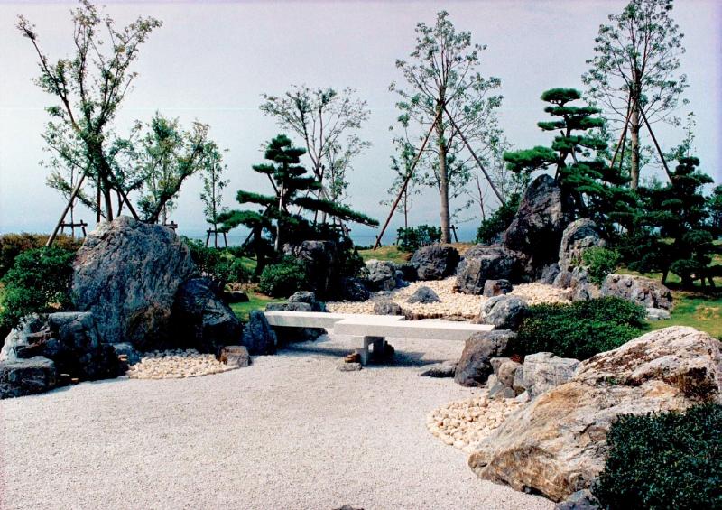 ミシガン州立大学連合日本センター内日本庭園