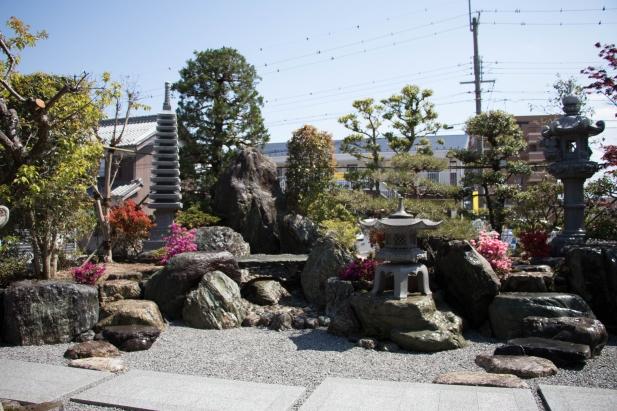 本格的な和風庭園