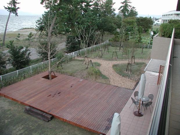 タカタビブラートハウス緑地帯樹木育成管理(彦根市)